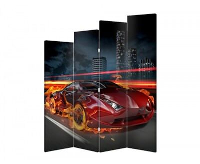 Two-sided decorative screen automotive 04138 180x120
