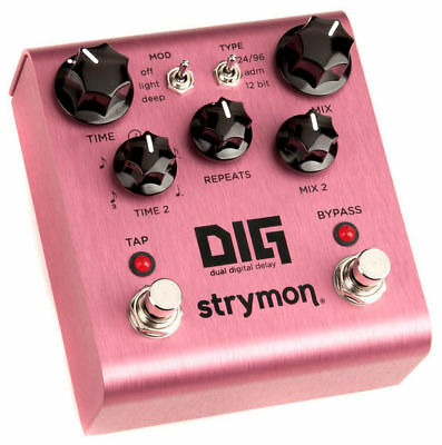Strymon DIG Dual Digital Delay Effektpedal Effect Pedal Made in USA NEU NEW