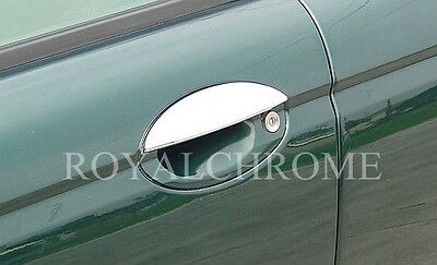 NEW PREMIUM QUALITY CHROME Door Handle Covers Trims for Jaguar XJ XJ8 X308 XJR