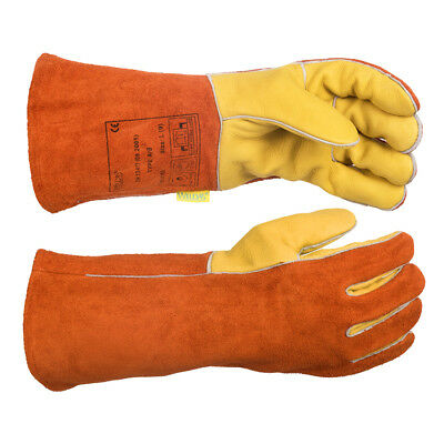 WELDAS Welding Gloves, Oil & Weather Resistant, HIGH QUALITY, Size: L & XL