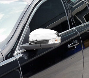 Jaguar Xf New Premium Chrome Wing Door Mirror Covers Trims 2008 - Late 2009