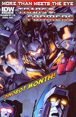 Transformers More Than Meets The Eye #8 Cover A IDW Publishing