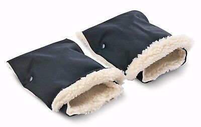 2 Piece Waterproof Gloves Hand Muff Pram Buggy Stroller Wheelchair Made in EU