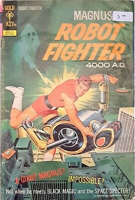 Magnus, Robot Fighter #33 (Oct 1972, Western Publishing)