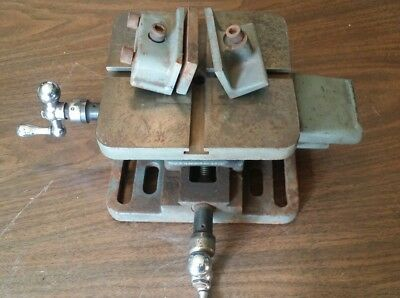 Atlas Craftsman W-68 2 Milling Table Vice with Universal Clamp