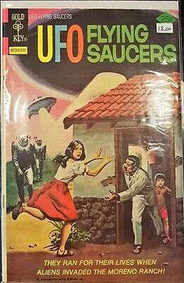 UFO Flying Saucers #6 (May 1975, Western Publishing)