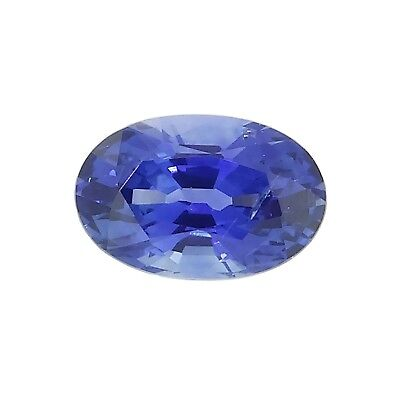 oval cut natural blue ceylon sapphire 0.51ct Genuine Loose Gemstones