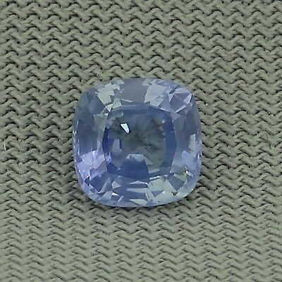 cushion cut natural unheated ceylon blue sapphire 0.81ct Genuine Loose Gemstones