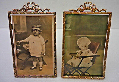 LOVELY ANTIQUE  PAIR OF FRENCH PICTURE FRAMES ca. 1900