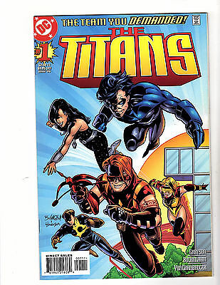 The Titans #1 (1999 DC) VF/NM Connecting Variant Cover A 1st Damien Darhk! Arrow