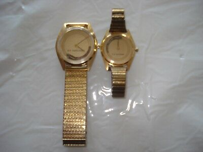 railroad wrist watch's  man and  lady's with moving train both SP-DAYLIGHT