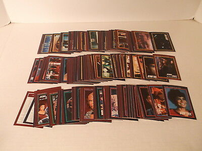 1991 Impel Star Trek Series 1 Cards #1-#160 Complete Trading Card Set