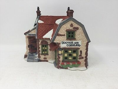 Heritage Village Collection Dickens Village Series Booter and Cobbler Dept 56