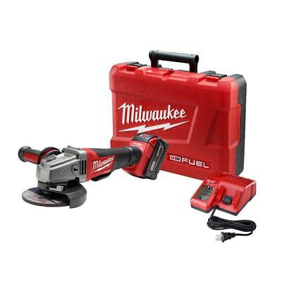 M18 FUEL 18-Volt Cordless 4-1/2 in /5 in. Grinder, Paddle Switch No-Lock Kit