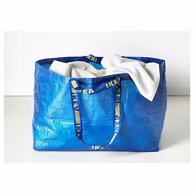 Ikea Shopping Bag New Large Reusable - Laundry Tote Grocery Storage - Frakta