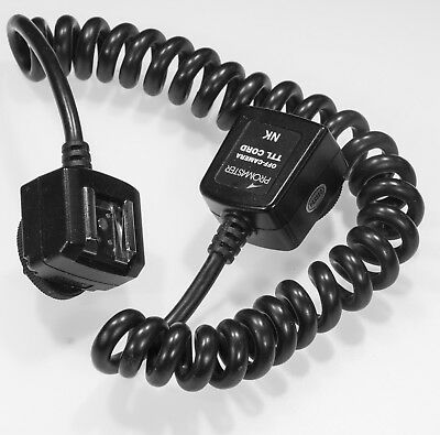 i-TTL Off-Camera Flash Cable Cord for Nikon Speedlite - Promaster