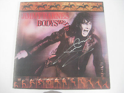 Jimmy Barnes Bodyswerve Signed Record Album Coa The Home Of The Real Deal