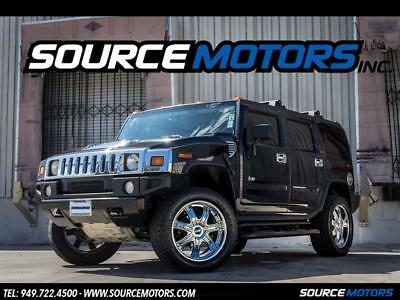 2004 Hummer H2 Base Sport Utility 4-Door 2004 Hummer H2 SUV, Luxury, Leather, Sunroof, Navigation, 3rd Row Seat