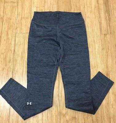NWT $55 Under Armour Womens Base 2.0 COLD GEAR Layer Pants grey lead S M XL