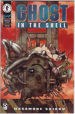 Ghost in the Shell 4 Dark Horse Shirow