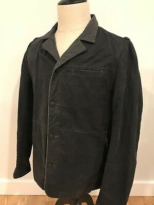 Recent Nice Collective Mens Canvas Chore Field Jacket Coat USA Size Large