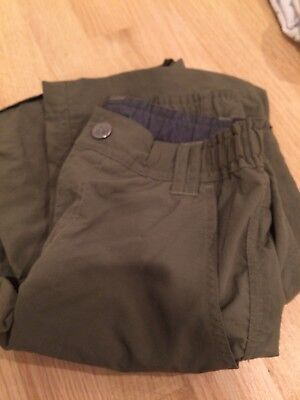 REi brand nylon convertaible pants with zip-off legs size M (10)