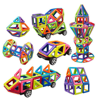 76 Piece Magnetic Tiles magnetic Building Blocks Toys for Kids Educational Block