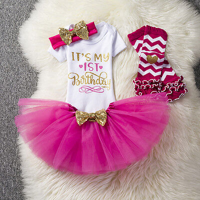 1st Birthday Outfits For Baby Girl Princess First Outfit One Year Old