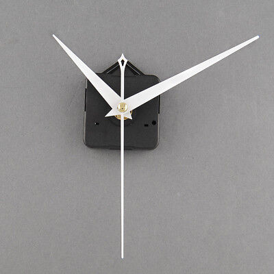Quality Clock Movement Mechanism Parts DIY Tool Set with White Hands Quiet #4
