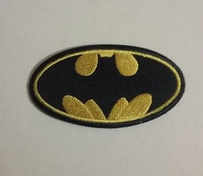 DIY Superman Batman Spiderman Embroidered Patch Applique Badge Iron-on/Sew On