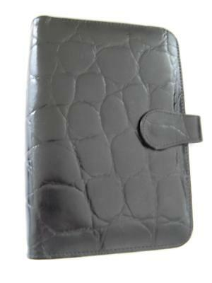 New Genuine Leather Black A5 Diary Cover Organizer Address Book Notebook