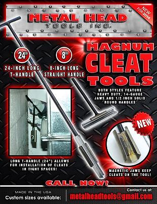 Lockformer cleat tool