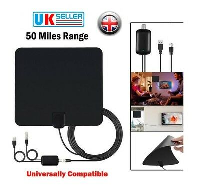 Hot UK High Definition TV Fox HDTV DTV VHF Scout Style TVFox Cable Super Antenna