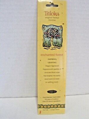 Triloka Herbal Enchanted Forest Incense Sticks  - Uplifting