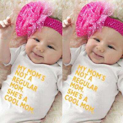 AU Stock Newborn Baby Girls Boy Summer Clothes Rompers Bodysuit Jumpsuit Outfit