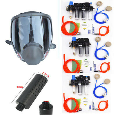 Safety Function Supplied Air Fed Respirator System 6800 Full Face Gas Mask
