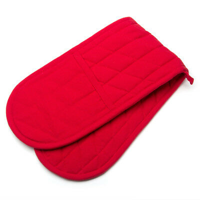 NEW Rans Red Manhattan Double Oven Glove