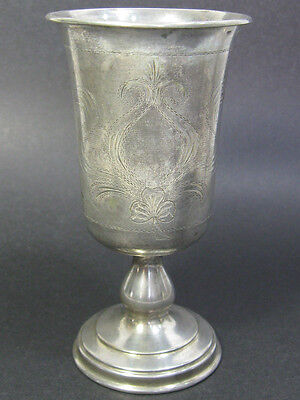 A Beautiful Silver Antique Austria-Hungary Hallmarked Goblet-Cup