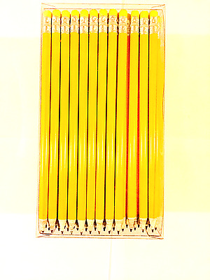 Newspaper Pencils 100% EcoFreindly HB 144 White Recycled Rubber Tip