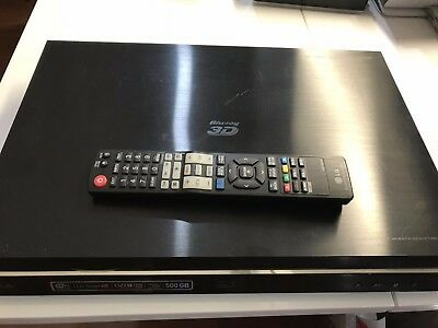 Lg 3D Blu-Ray / Dvd Player | Hdd Recorder & Hd Twin Tuner | Hr925T | With Remote