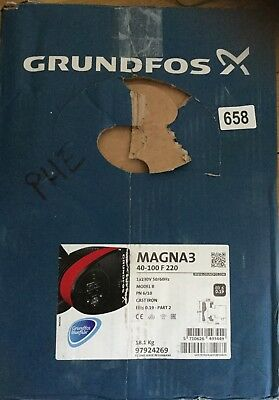 Grundfos Magna3 40-100F 1PH Flanged Pump Heating Circulator 240v 97924269