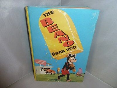 """1970 Annual """"The Beano Book"""" Unclipped But With Some Writing"""