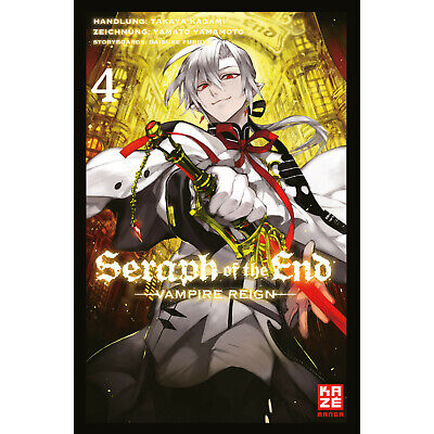 Seraph Of The End - Band 4, Action (Taschenbuch)