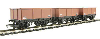 Hornby R6473 Pack of 3 16 Ton Mineral Wagons - Aust. Warranty