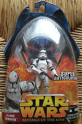 STAR WARS Episode 3 Clone Trooper OVP Hasbro