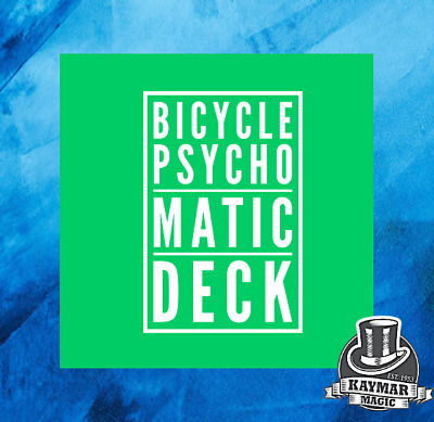 The Psychomatic Deck - Ultimate Force Deck for Magicians and Mentalists - Handma