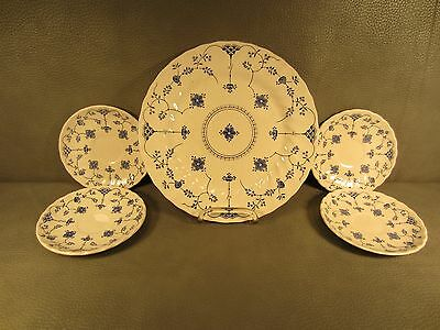 Set of 5 Vintage Myott Finlandia Plates and Saucers Staffordshire England