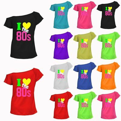 Back To The 80s T Shirt 80/'s Fancy 80 Party Dress 1980s Neon Pink Ladies Tee Top