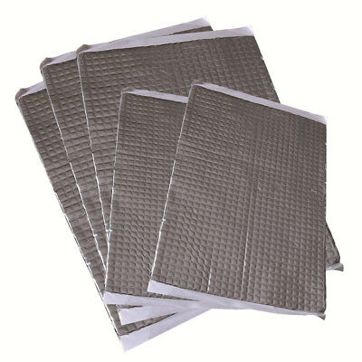 2mm Thickness 30 Sheets Pack Car Van Deadening Mats Sound Lower Proofing Damping