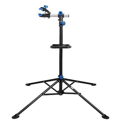 Stanz (TM) Adjustable Bike Repair Stand - Includes Tool Tray - 75 LBS Capacity